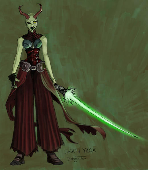 Starwars Sith design by RC-draws