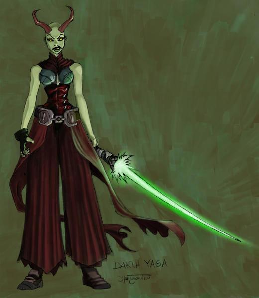 Starwars Sith design by RC-draws
