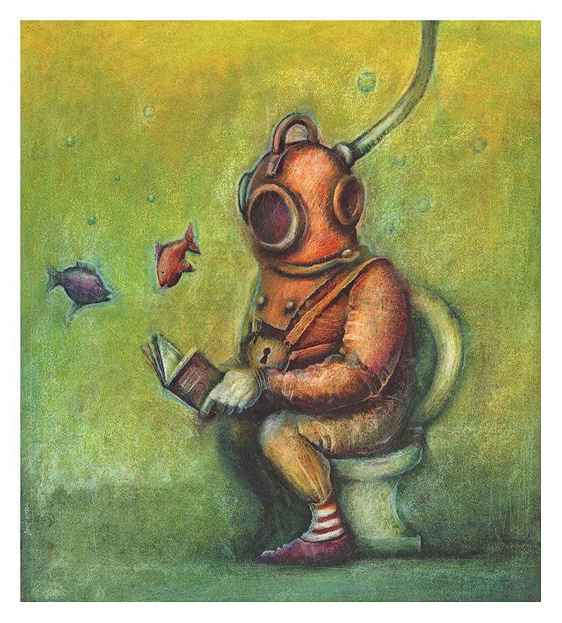 diver by Slawekgruca
