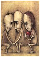 Temptation of Adam by Slawekgruca