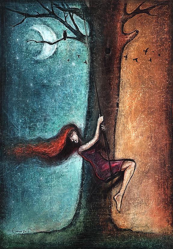 The teeter by Slawekgruca