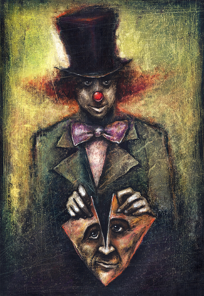 Behind the mask by Slawekgruca
