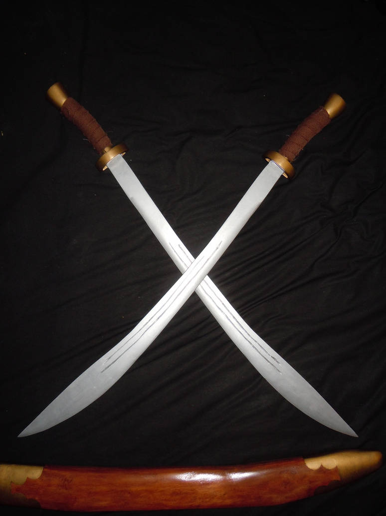 Avatar: Zuko's Dual Dao Swords by I-Artemis-I on DeviantArt