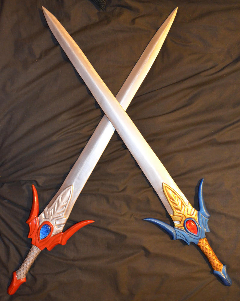 Lu Xun's Twin Swords by I-Artemis-I