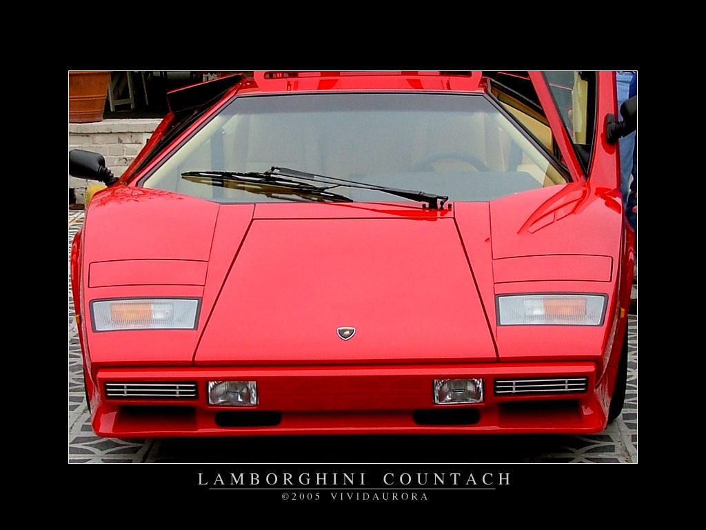 Lamborghini Countach LP S classic supercar supercars f