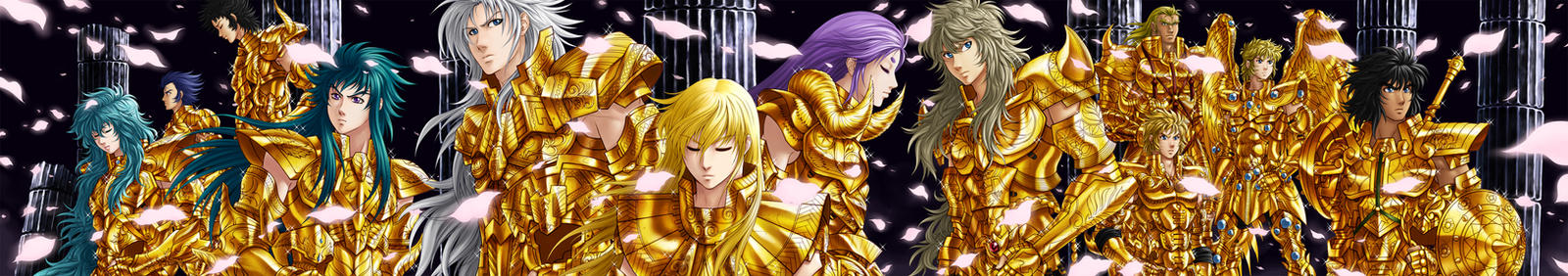 Gold Saints by RXGDO