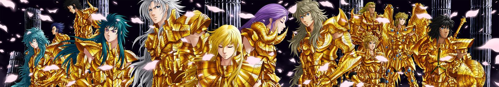 Gold Saints by RXGDO
