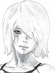 NiER: Automata fanart - A2 Portrait by ThroughTheBlade