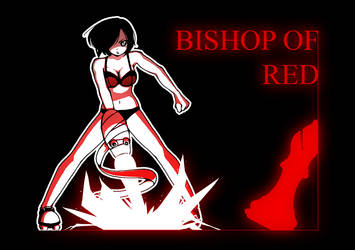 Bishop Of Red by GreyInvidia