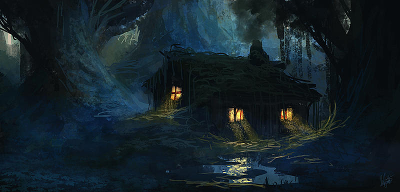 Sdj witch 39 s house by mirojohannes on deviantart for Witch house music