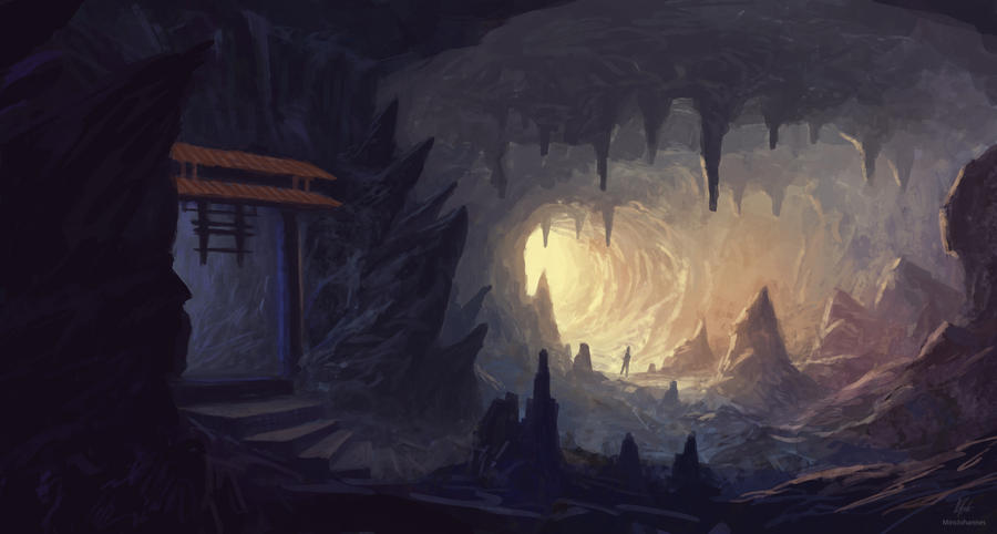 Old cave by MiroJohannes