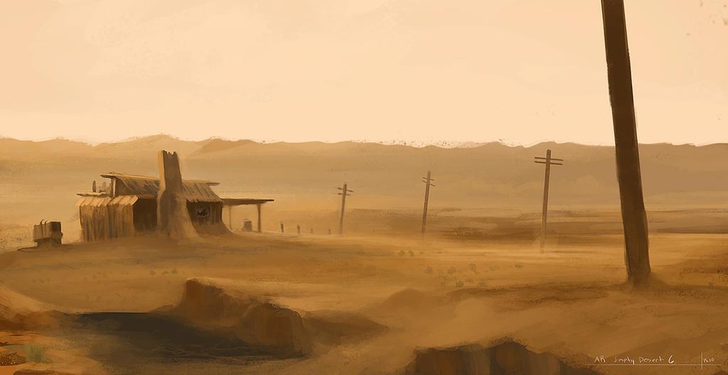 Empty desert-AR by MiroJohannes