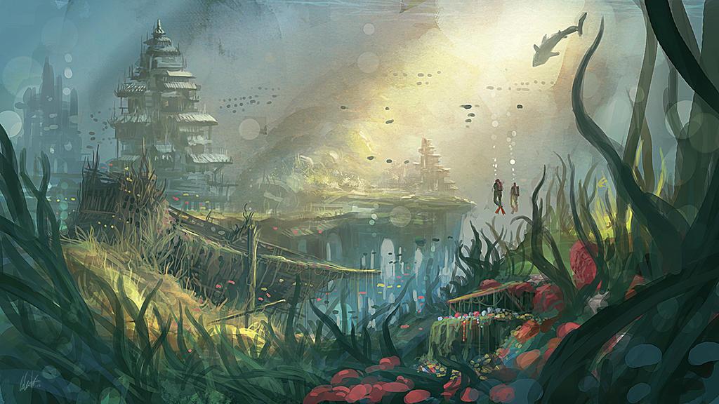 Treasure hunt by MiroJohannes