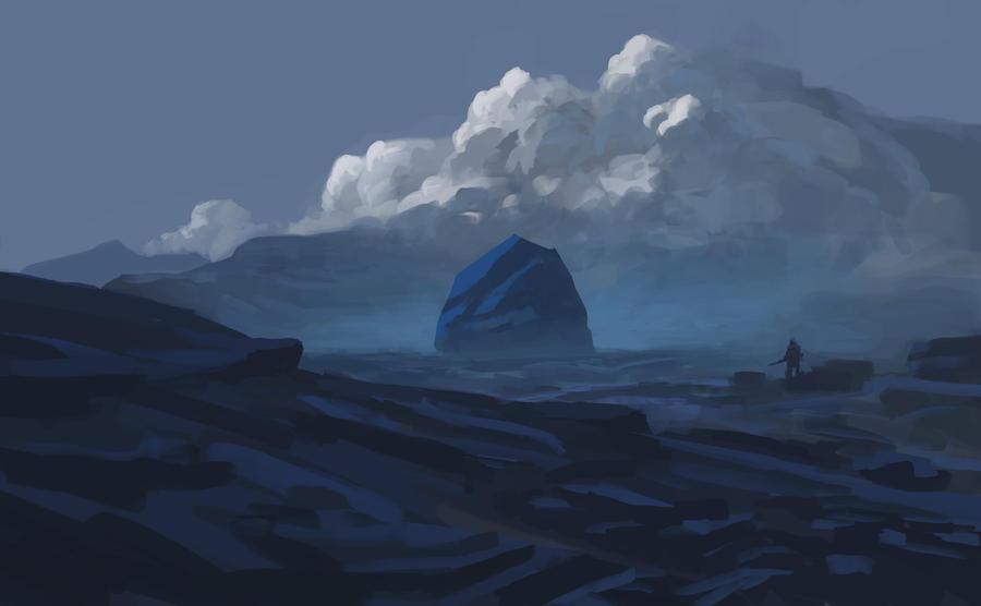 Mystical Rock by MiroJohannes