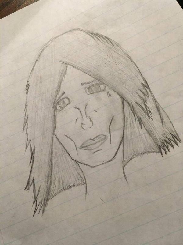 frail lady by Kratos4445