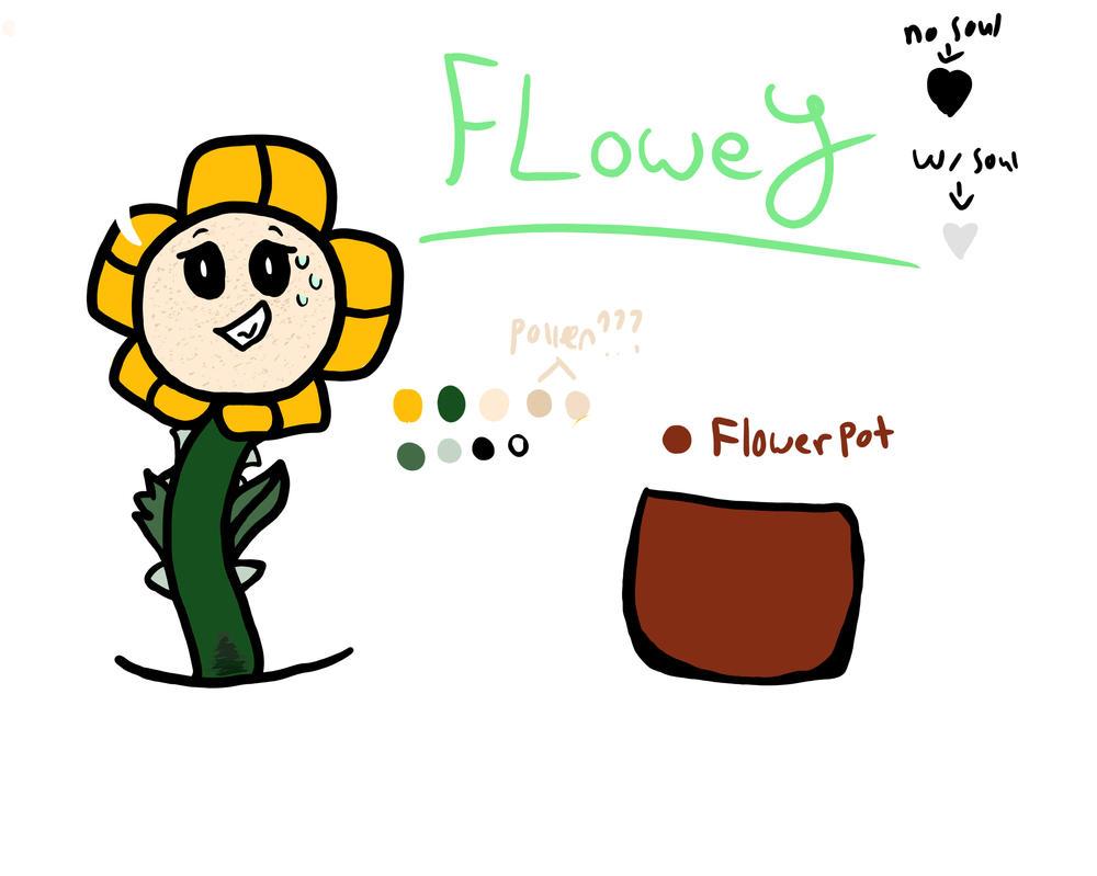 Flowey-Reference by Lionblaze03