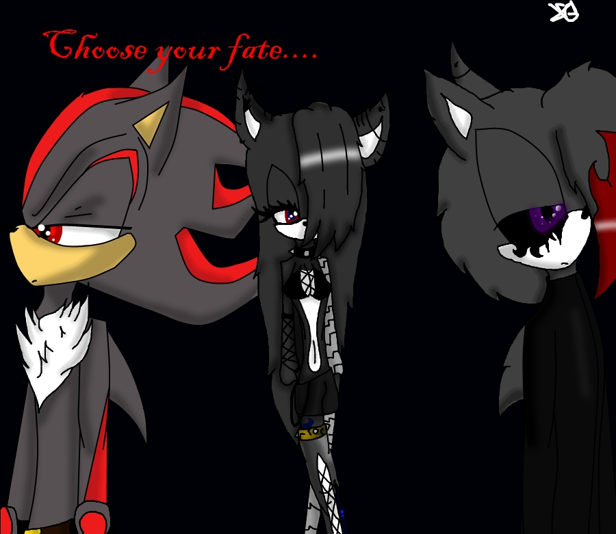 .:Choose your fate:. by shadowXghost500 on deviantART
