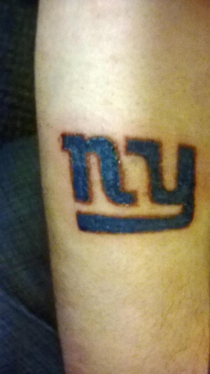 New York Giants Tattoo by PhantomTwilightWind