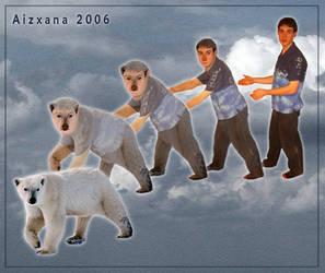 Polar Bear Morph by Aizxana
