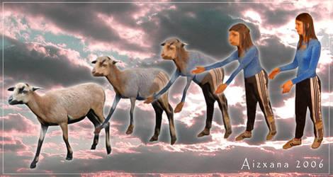 Goat Morph by Aizxana