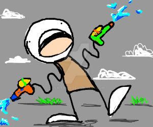 Noodle Arm Squirt Guns by LilKity828