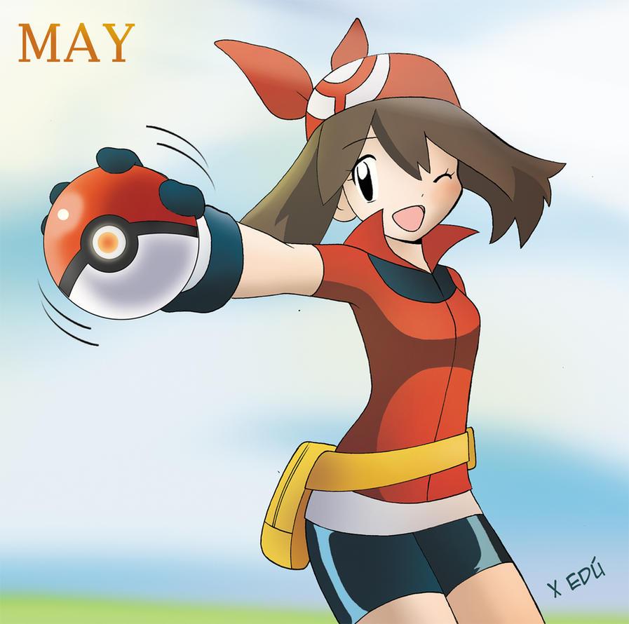May Pokemon by x-Edu on DeviantArt