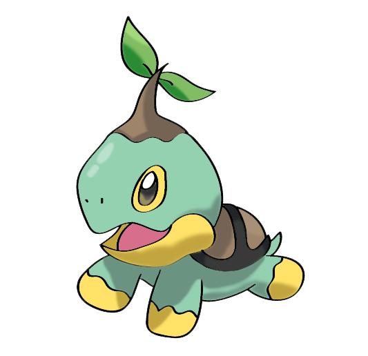 Pokemon Shiny Turtwig Images | Pokemon Images