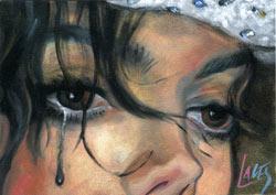 Michael Jackson Crying by KOREYK29