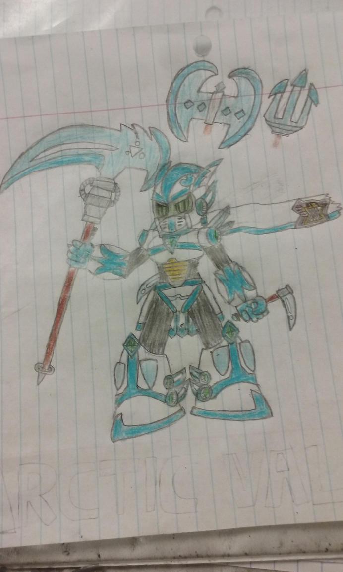 Mega Man X OC: Arctic Valkyrie by Som3bode