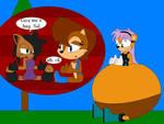 Mina ate Nicole and Sally