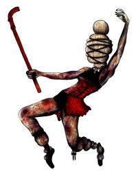 Bound Dancer (Side View) by SketchMeNot-Art