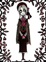 Plain Doll - Tim Burtonized by SketchMeNot-Art