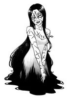 Tomie - Kill Me Again by SketchMeNot-Art