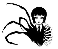 Misery-chan - Shut by SketchMeNot-Art