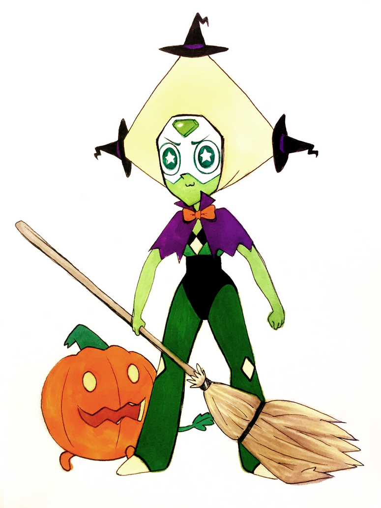 _inktober_08__peridot___witch_hats_by_sk
