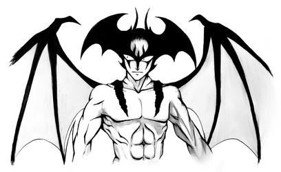 Devilman - Kensaku by SketchMeNot-Art