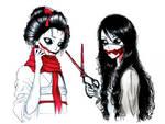 Kuchisake Ladies