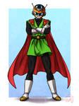 Great Saiyaman (Gohan) - Hero of Justice by SketchMeNot-Art