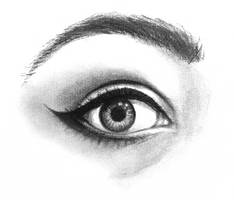 Self-Portrait - Eye Study