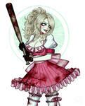 Bad Girl (Charlotte Birkin) - Make a Bet by SketchMeNot-Art