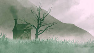 Cottage in the Misty Valley