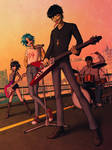 Gorillaz - It's the Music That We Choose (V1) by SketchMeNot-Art