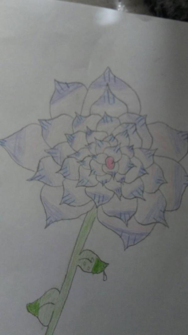 Rose sketch #1 by AnimeCutie2334