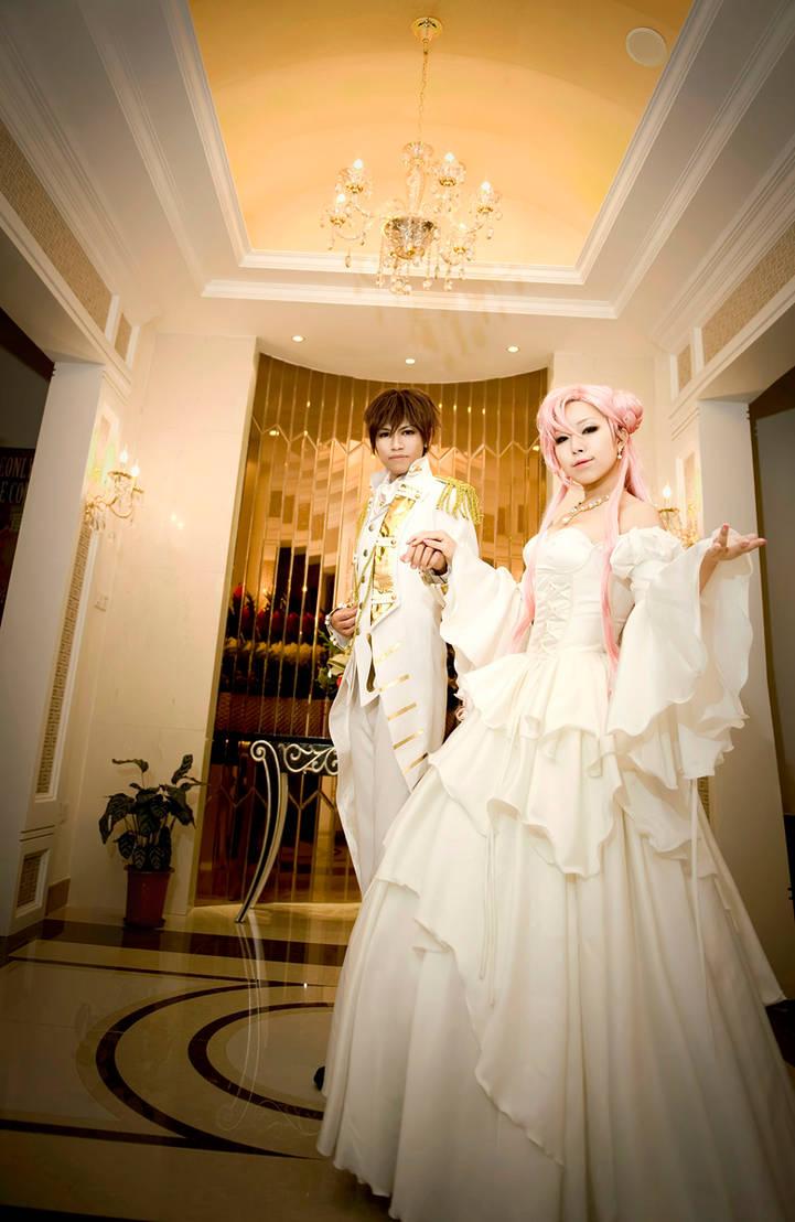 Suzaku and Euphemia by LALAax