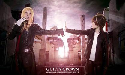 Guilty Crown    OUMA SHU and TSUTSUGAMI GAI