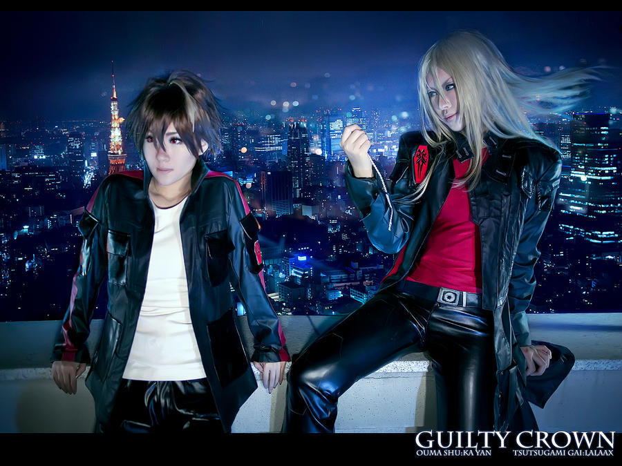 GUILTY CROWN COSPLAY GAI SHU by LALAax