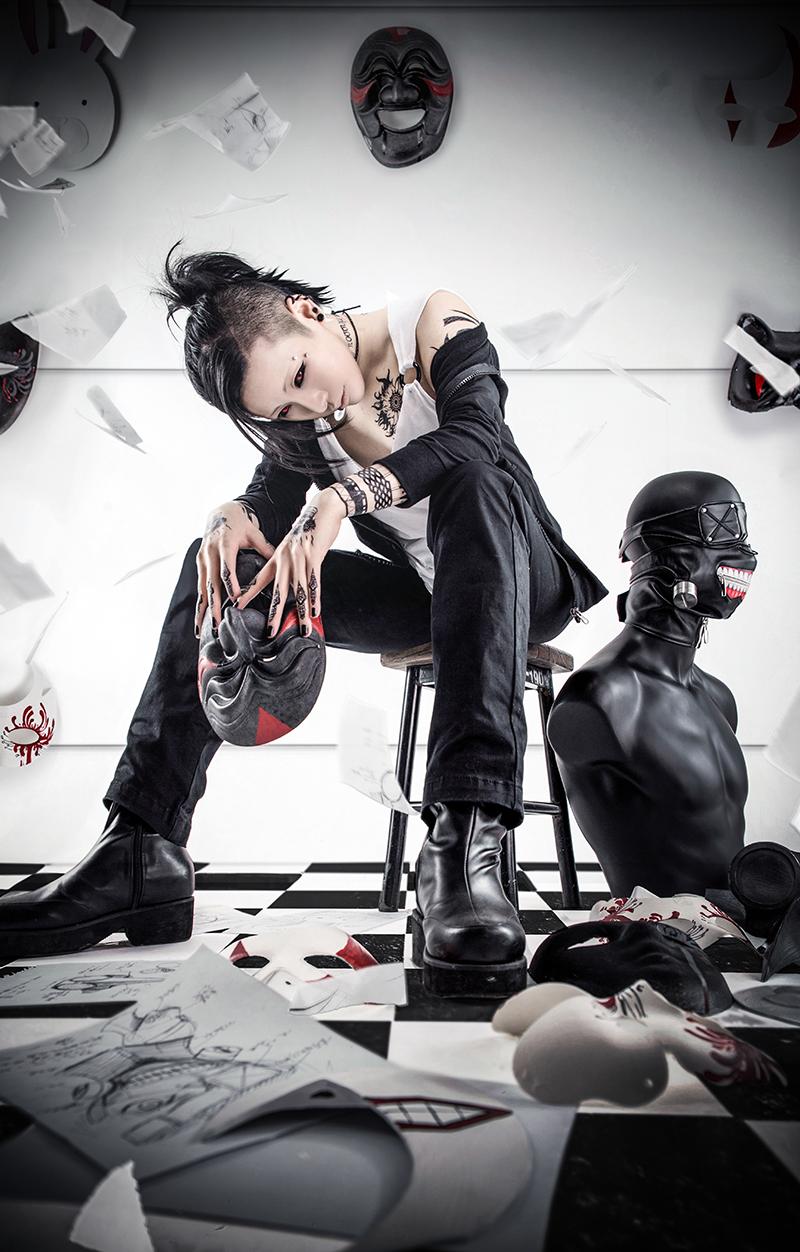 Tokyo Ghoul Uta cosplay