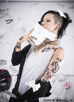 TokyoGhoul Uta cosplay by LALAax