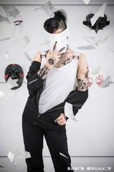 Tokyo Ghoul cosplay by LALAax