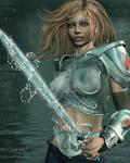 Sword of the Sea by WrenStormbringer